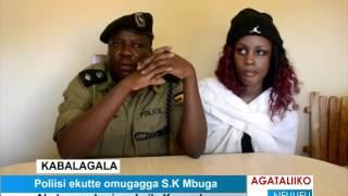 Poliisi ekutte omugagga S.K Mbuga thumbnail