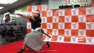 2012.10.10 新宿西口イベント広場にて.
