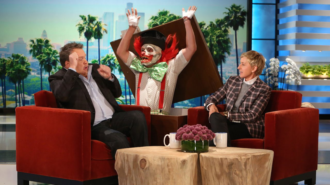 Ellen DeGeneres' Montage of Her Most Famous Celebrity ...