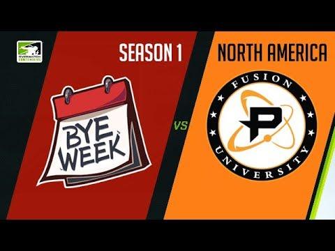 Bye Week vs Fusion University (Part 2) | OWC 2018 Season 1: North America