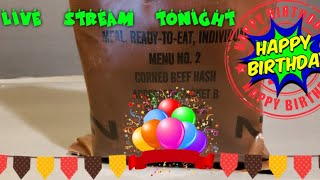 Birthday 🔴Oldsmokey Live Stream Reviewing Menu #2 From 1992