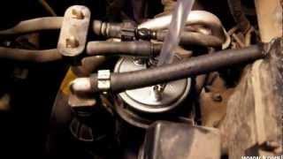 Установка фильтра грубой очистки на SSANGYONG REXTON 2.7 Xdi.avi(На автомобилях SSANGYONG стоит два фильтра, фильтр грубой очистки представляет собой колбу без внутренностей,..., 2012-05-10T13:32:37.000Z)