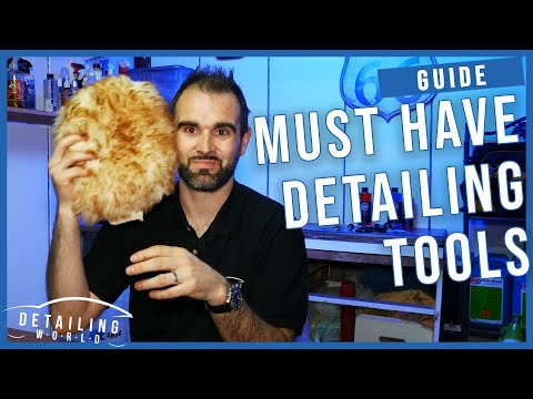 15 Must Have Car Detailing Products & Tools!
