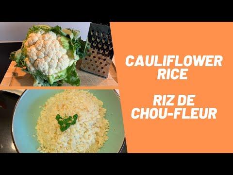how-to-make-cauliflower-rice-(easy)-/-comment-préparer-le-riz-de-chou-fleur-(facile)