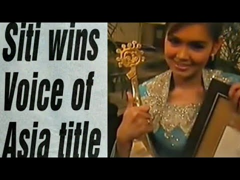 Siti Nurhaliza - Grand Prix Winner Voice of Asia 2002 (The Whole Story)