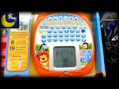 quick snippet review vtech write learn touch tablet