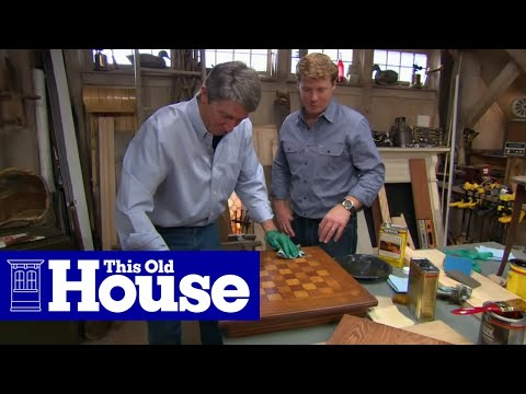 How To Stain And Finish Wood Furniture   This Old House   YouTube