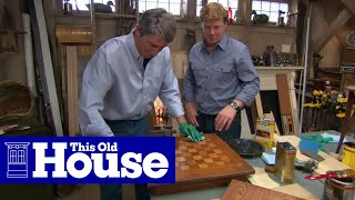 How To Stain And Finish Wood Furniture - This Old House