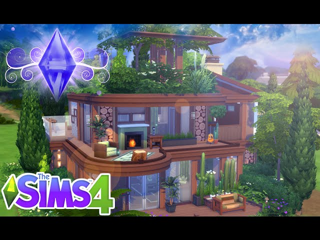 The Sims 4: House Building   Eco Home