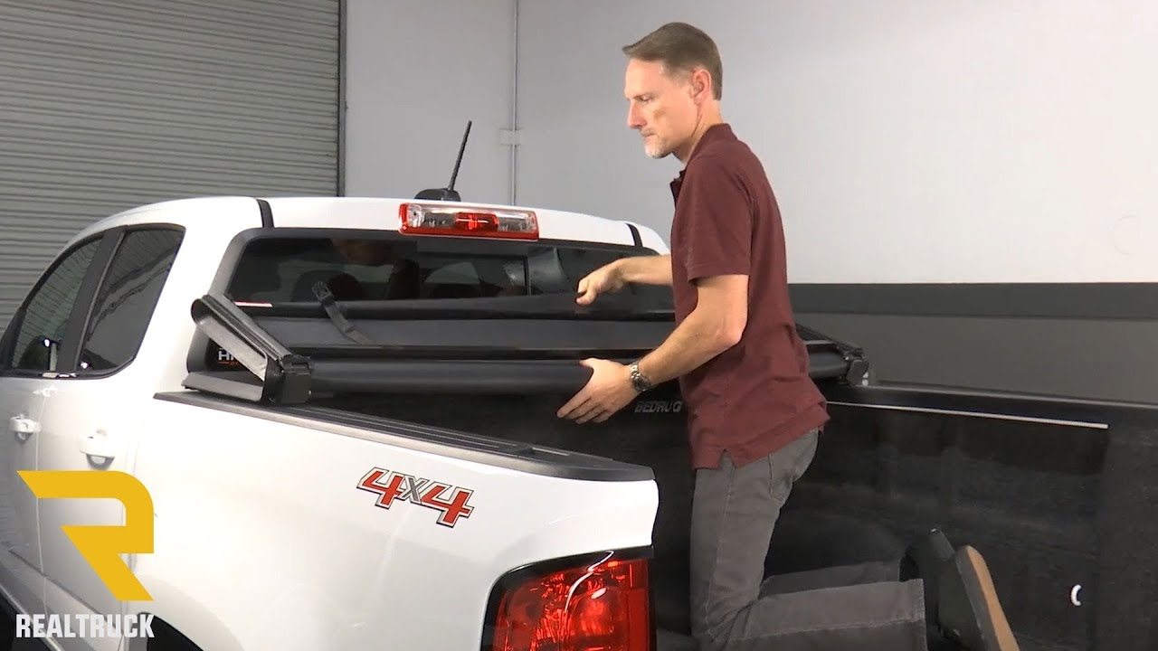 How To Install Gator Tri Fold Pro Tonneau Cover On A 2016 Chevy Colorado Youtube