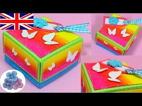 Diy How To Boxes Scrapbook Gift Box Origami Box Paper Craft