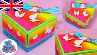 DIY How to Boxes Scrapbook Gift Box Origami Box Paper Craft Scrapbook Ideas Mathie