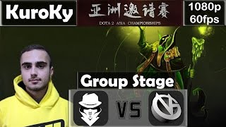 KuroKy (Secret) - Rubick | Epic Comeback | Secret vs VG | Dota 2 Asia Championships 2015 @60fps