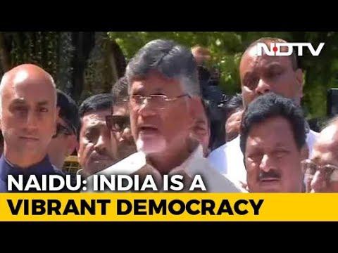 "Chandrababu Naidu In Delhi, Says Poll Body Works On PM's ""Instructions"""