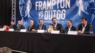 LIVELY! - CARL FRAMPTON v SCOTT QUIGG - FULL & UNCUT MANCHESTER PRESS CONFERENCE / FRAMPTON v QUIGG
