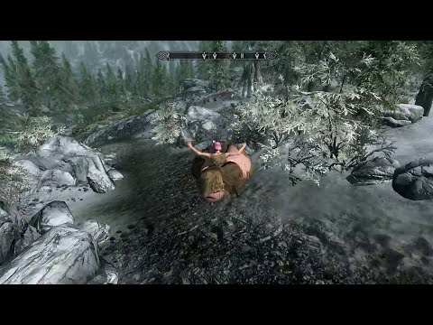 Skyrim TITTY Mods Adventure (Boob Physics And Body Sliders) - Part 1