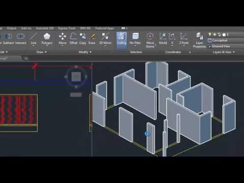 Como hacer una casa en 3d en autocad youtube - Crear casas 3d ...