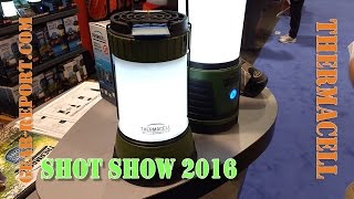 ThermaCell Scout Mosquito Repellant Camp Lantern - SHOT Show 16 - Gear-Report.com