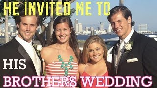 he invited me to a family wedding for our 3rd date...| shawn johnson + andrew east