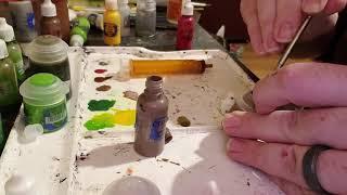Transferring Citadel paint pots to dropper bottles