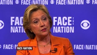 Full interview: Hillary Clinton, September 20