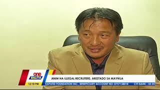 ONE BALITA   Illegal recruiters na nanloloko pati ng mga recruitment agency, arestado sa Maynila!