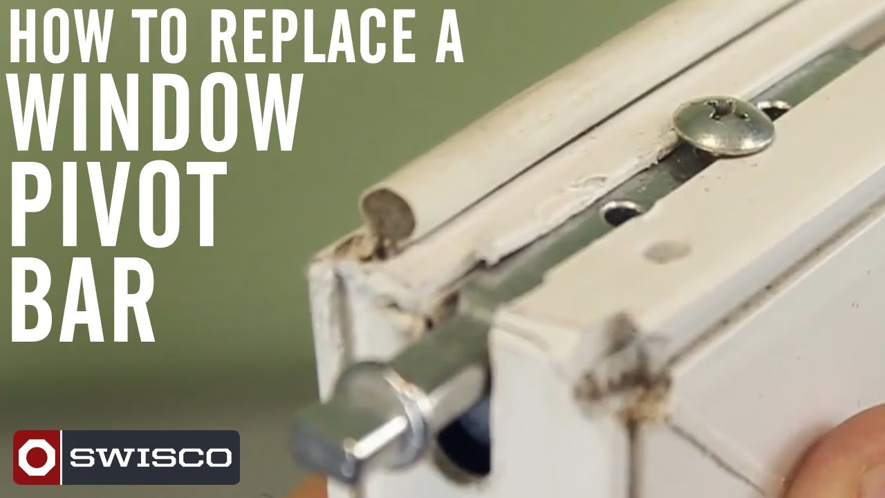 How to replace a window pivot bar  YouTube