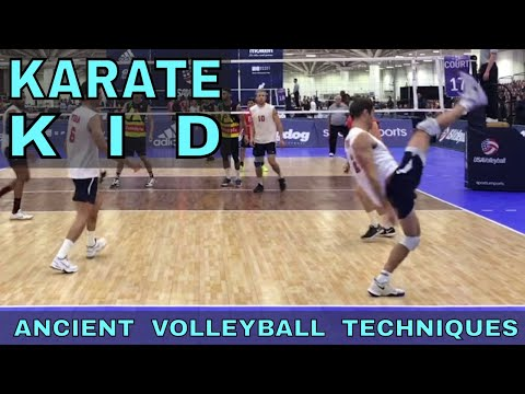 THE KARATE KID - Ancient Volleyball Techniques #21