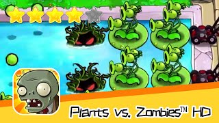 Plants vs  Zombies™ HD Adventure 2 Pool 06 Walkthrough The zombies are coming! Recommend index five