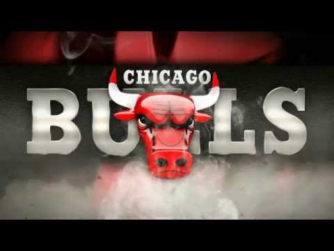 Bulls logo Animation