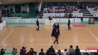 65th All Japan Kendo Championship 30   Round 1, Kasu vs Hatakenaka