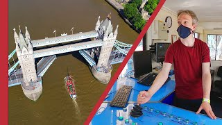 How one little boat (and me) held up miles of London traffic
