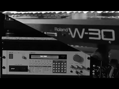 """[preview] 12-bit samplers: Akai S900 and Roland W-30 quick """"lo-fi"""" comparison"""
