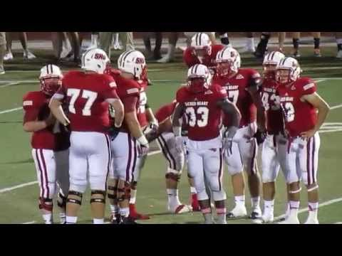 Marist Red Foxes vs Sacred Heart Pioneers - Football Highlights - Campus Field - August 30, 2014