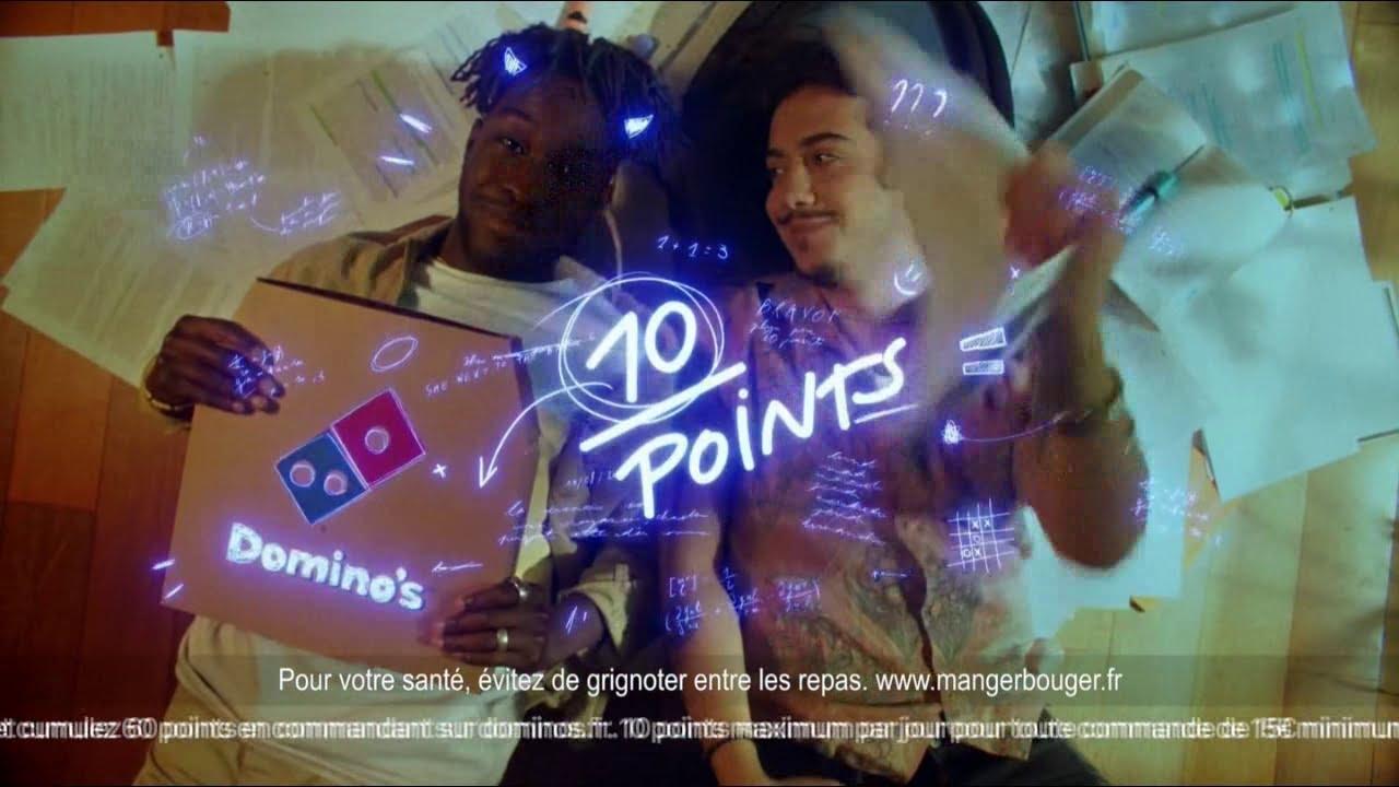 """Musique de la pub Domino's Pizza – fidélité """"60 points = 1 pizza offerte""""  2021"""