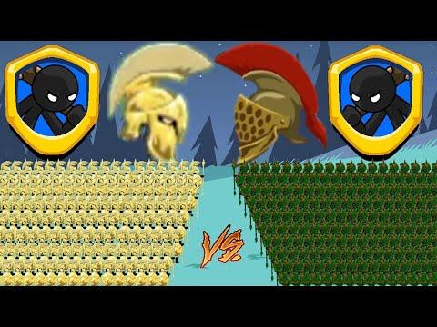 Warriors Golden Destroy Warriors Leaf!!!⚔️Stick War Legacy🗡️KasubukTQ |