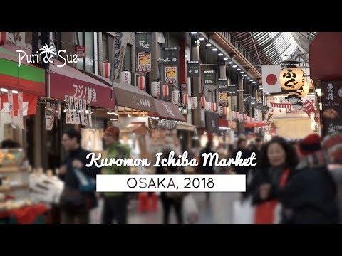 KUROMON MARKET | Fresh Seafood | Osaka 2018