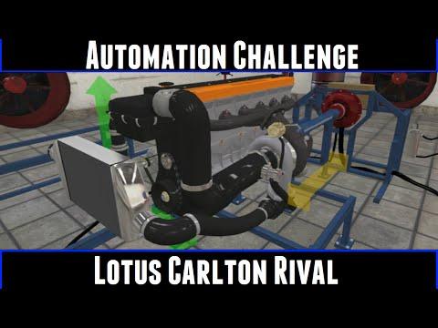 Automation Challenge Lotus Carlton Rival
