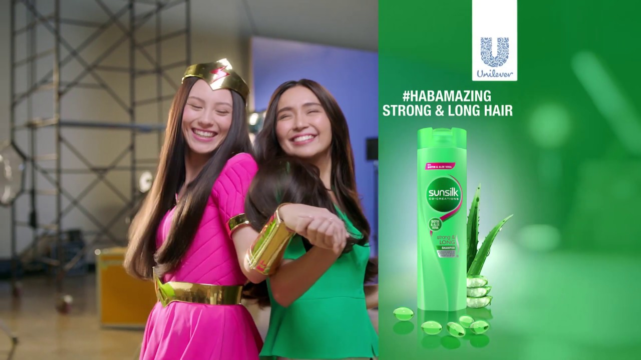 Switch to Sunsilk for #HABAmazing Strong and Long Hair