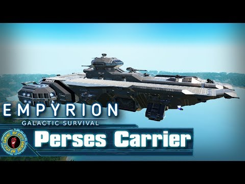 Perses Carrier by jrandall  -  Empyrion: Galactic Survival Workshop Showcase
