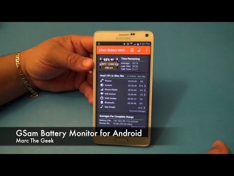 GSam Battery Monitor for Android