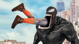 We are VENOM - Parody Sketch #76 (VENOM Eats Spider-Girl)