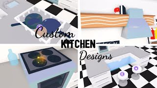 10 Custom KITCHEN Design Ideas & Building Hacks (Roblox Adopt me) | Its SugarCoffee