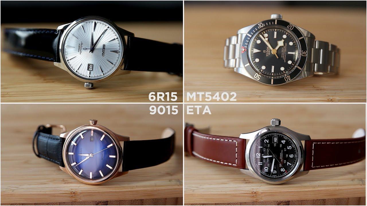 Seiko 6R15 vs 7S26 vs NH35 vs Miyota 9015 vs ETA vs Tudor   Watch Accuracy  Test