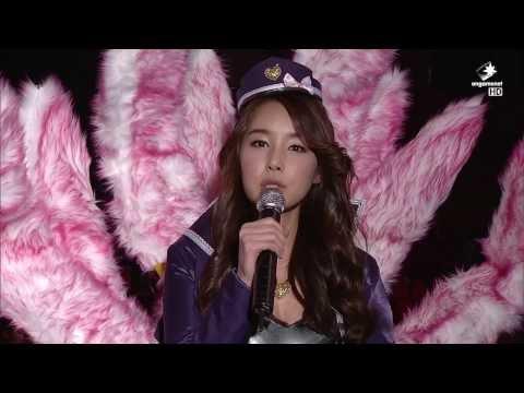 LOL Champs winter Hot Clip_Popstar Ahri_조은나래 팝스타 아리