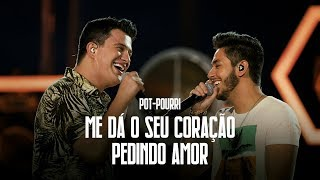 Hugo e Guilherme -  Me dá o seu coração | Pedindo amor - DVD No Pelo em Campo Grande