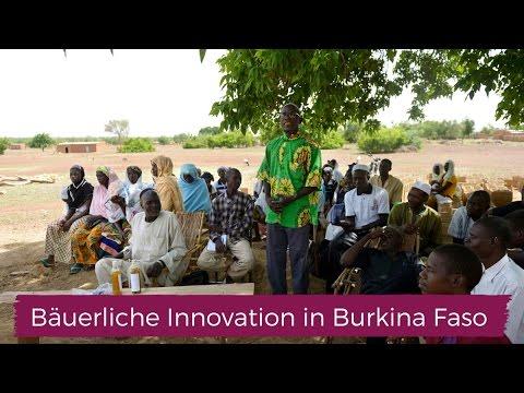 Bäuerliche Innovation in Burkina Faso