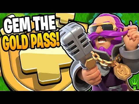 GEMMING THE AUGUST GOLD PASS! - Clash Of Clans
