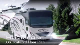 2019 Hurricane® 33X Class A Motorhome Featured Floor Plan from Thor Motor Coach