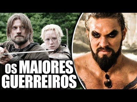 OS 11 MAIORES GUERREIROS DE GAME OF THRONES!